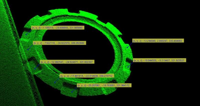 压铸件3D视觉智能检测-机器视觉_视觉检测设备_3D视觉_缺陷检测
