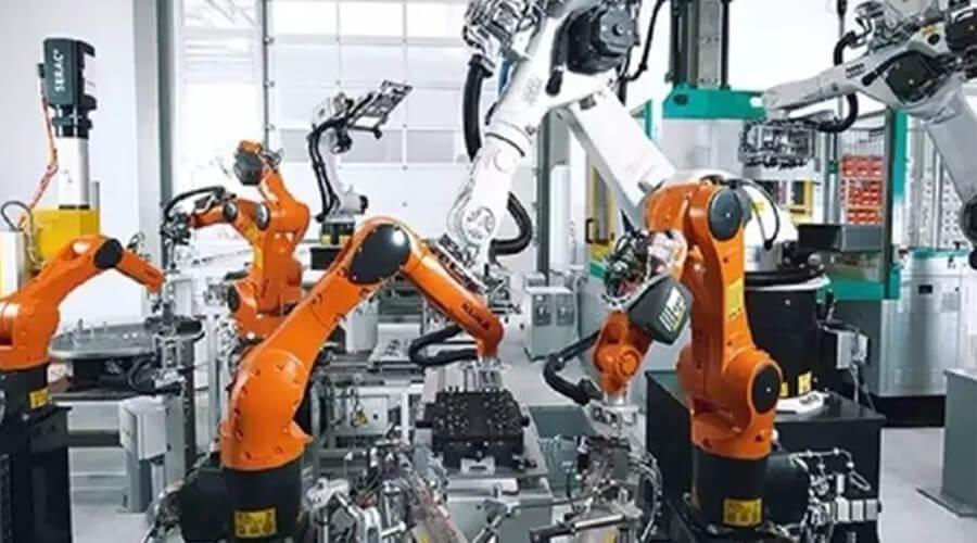 机器视觉为锻压机械手臂装上眼睛-机器视觉_视觉检测设备_3D视觉_缺陷检测