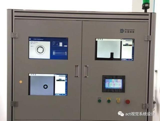机器视觉之气动量仪自动化检测系统-机器视觉_视觉检测设备_3D视觉_缺陷检测
