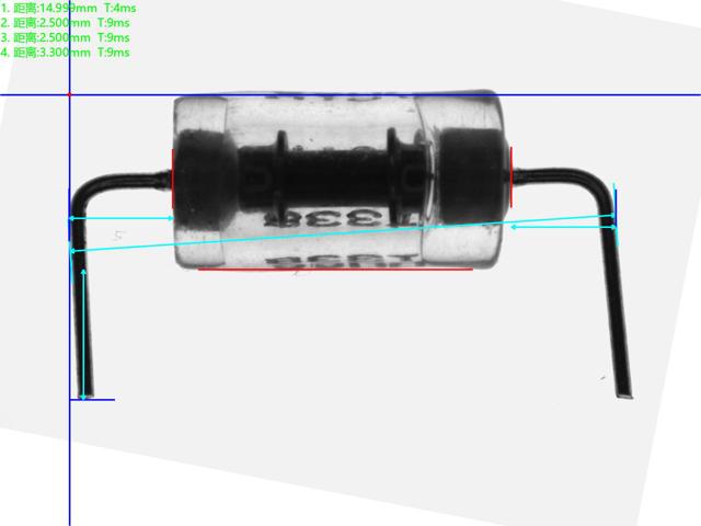 IC芯片自动化视觉检测电容电阻尺寸方案-机器视觉_视觉检测设备_3D视觉_缺陷检测