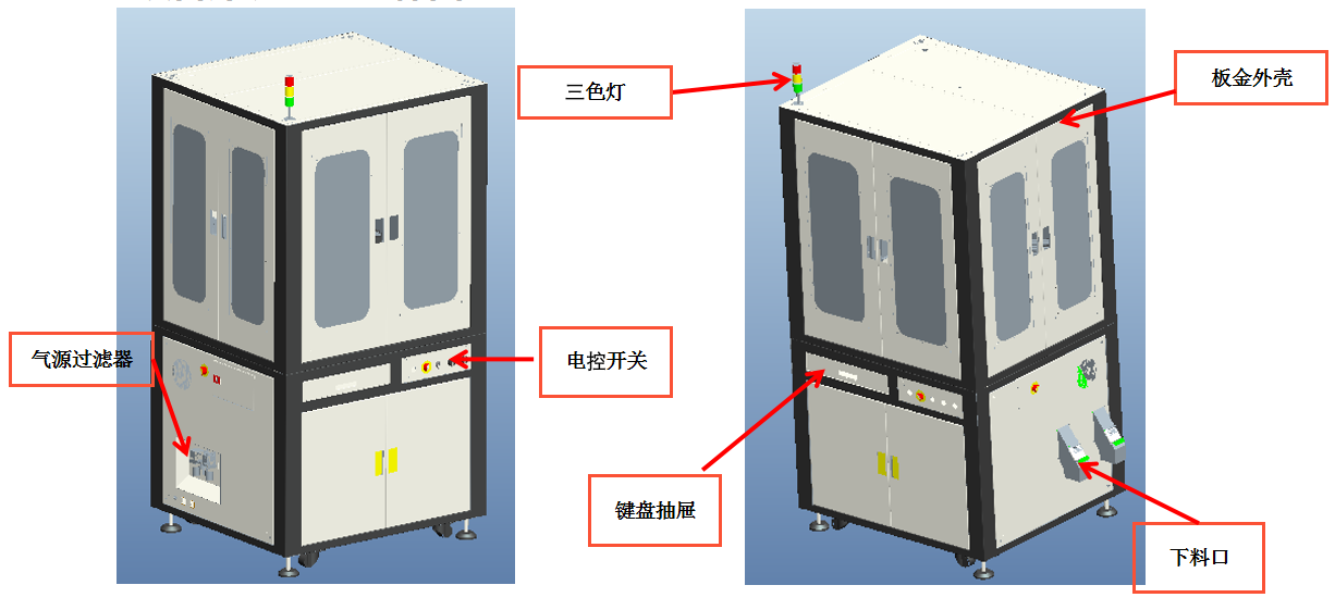 瓶盖表面外观尺寸及瑕疵缺陷视觉检测系统-机器视觉_视觉检测设备_3D视觉_缺陷检测