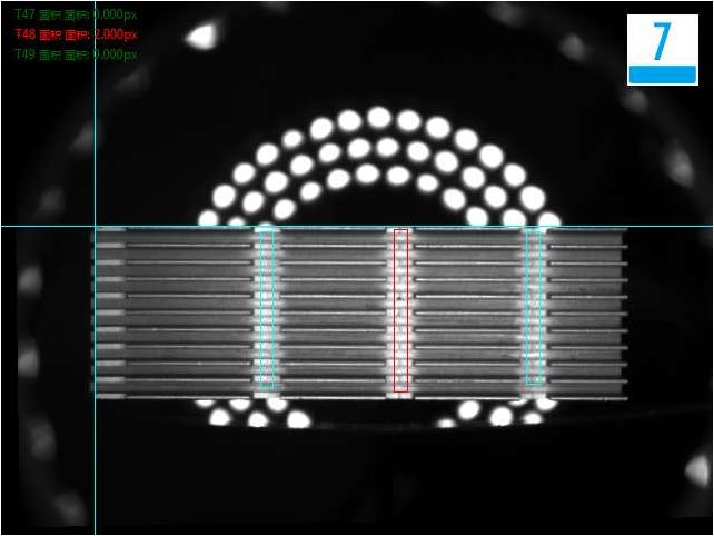散热片外观尺寸视觉检测设备系统-机器视觉_视觉检测设备_3D视觉_缺陷检测