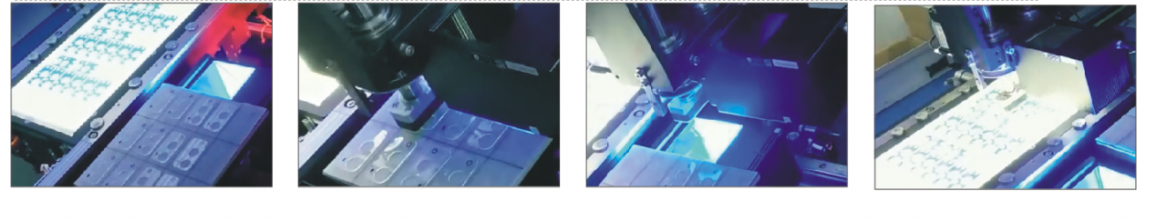 手机摄像头玻璃对位贴合系统,高精度快速对位-机器视觉_视觉检测设备_3D视觉_缺陷检测