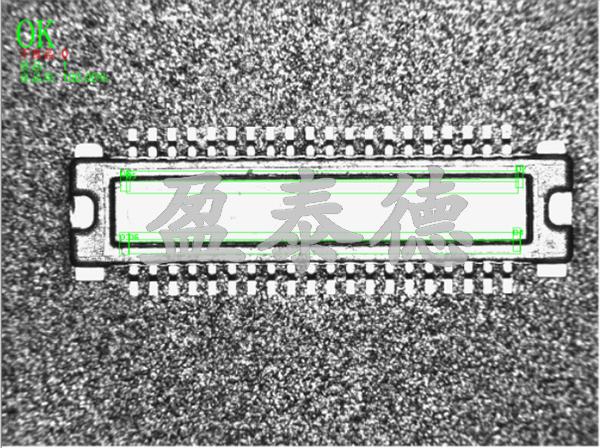 连接器端子脚视觉检测系统-机器视觉_视觉检测设备_3D视觉_缺陷检测