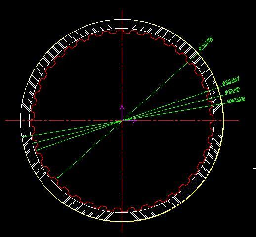 摩擦片外观(尺寸测量)自动检测方案-机器视觉_视觉检测设备_3D视觉_缺陷检测