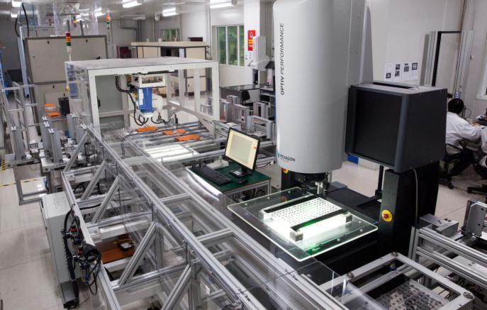芯片自动化视觉检测及筛选方案-机器视觉_视觉检测设备_3D视觉_缺陷检测