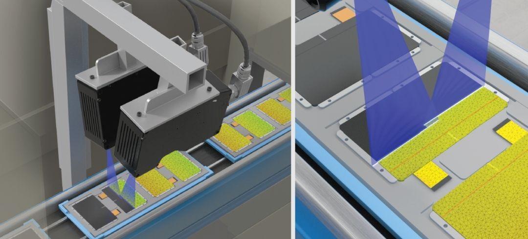 3D视觉检测设备系统(电子行业产品智能检测应用)-机器视觉_视觉检测设备_3D视觉_缺陷检测